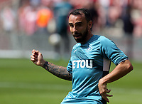 Leon Britton of Swansea City warms up prior to the Premier League match between Southampton and Swansea City at the St Mary's Stadium, Southampton, England, UK. Saturday 12 August 2017