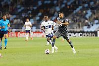 SAINT PAUL, MN - MAY 12: Ramon Abila #9 of Minnesota United FC during a game between Vancouver Whitecaps and Minnesota United FC at Allianz Field on May 12, 2021 in Saint Paul, Minnesota.
