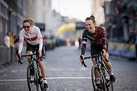 eventual winner Katarzyna Niewiadoma (POL/Canyon-SRAM) to sign-on<br /> <br /> 6th Amstel Gold Race Ladies Edition (1.WWT)<br /> One day race from Maastricht to Berg en Terblijt (127km)<br /> <br /> ©kramon