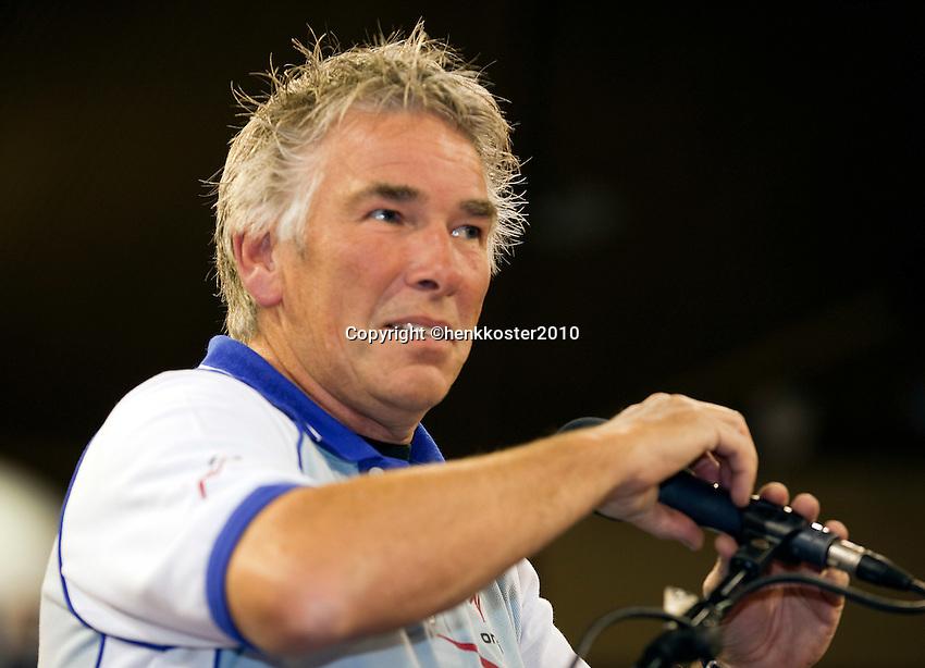 30-09-10, Eindhoven, Tennis, Afas Tennis Classics 2010,  Umpire Frank Vrins