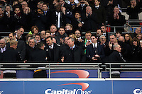 Pictured: Bradford city players. Sunday 24 February 2013<br /> Re: Capital One Cup football final, Swansea v Bradford at the Wembley Stadium in London.