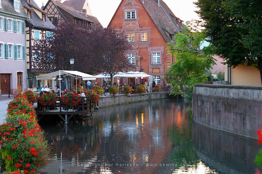 terrace little venice jys restaurant q de la poissonnerie colmar alsace france