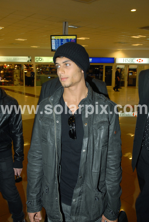 **ALL ROUND PICTURES FROM SOLARPIX.COM**.**SYNDICATION RIGHTS FOR UK AND SPAIN ONLY**.Always with several bodyguards around him, Brazilian model Jesus Luz, the alleged boyfriend of American pop singer Madonna, was spotted arriving at Buenos Aires, for a photoshoot at Gabriel Rocca studios for launch campaign of the new clothing line by the designer Ona Saez. Buenos Aires, Argentina. 15 June 2009..This pic: Jesus Luz..JOB REF: 9264 PRT (Perfil)       DATE: 15_06_2009.**MUST CREDIT SOLARPIX.COM OR DOUBLE FEE WILL BE CHARGED**.**ONLINE USAGE FEE GBP 50.00 PER PICTURE - NOTIFICATION OF USAGE TO PHOTO @ SOLARPIX.COM**.**CALL SOLARPIX : +34 952 811 768 or LOW RATE FROM UK 0844 617 7637**