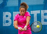 Amstelveen, Netherlands, 5  Juli, 2021, National Tennis Center, NTC, Amstelveen Womans Open, Martina Caregaro (ITA)<br /> <br /> <br /> Photo: Henk Koster/tennisimages.com