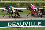 August 15, 2021, Deauville (France) - Races in Deauville at the Deauville Racecourse. [Copyright (c) Sandra Scherning/Eclipse Sportswire)]