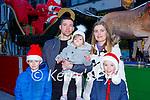 Killian Bunyan, Mark Mulcahy, Penny, Erin and  Nathan Bunyan enjoying a family day in Killarney on Sunday