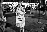 - New York, propaganda of evangelical preachers in Times Square<br /> <br /> - New York, propaganda di predicatori evangelici in Times Square