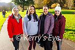 Bridget Mannix, Sinead, Michelle and Aine O'Connor from Killarney enjoying a stroll in Killarney National Park on Saturday.
