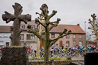 passed the cemetery <br /> <br /> 43rd Driedaagse Brugge-De Panne 2019 <br /> One day race (1.UWT) from Brugge to De Panne BEL (200km)<br /> <br /> ©kramon