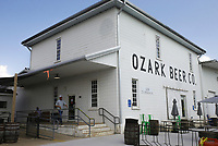 Ozark Beer Company is shown, Friday, July 23, 2021 in Rogers. They expanded their patio area and added to their capacity. The brewery is in downtown Rogers and was the second largest beer producer in the state in 2019. Check out nwaonline.com/210724Daily/ for today's photo gallery. <br /> (NWA Democrat-Gazette/Charlie Kaijo)