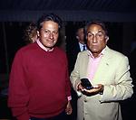 PAOLO LIGUORI ED EMILIO FEDE<br /> FESTA PER I 60 ANNI DI MAURIZIO COSTANZO<br /> MANEGGIO DI GIANNELLA  1998