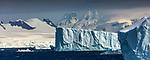 Antarctica, landscape along western Antarctic Peninsula