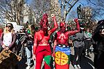 International 2020 women's day demonstrations