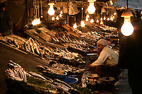 FISH MARKET AT KARAKOY, ISTANBUL, TURKEY