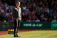Swansea City manager Garry Monk looks dejected during the Barclays Premier League match between Southampton v Swansea City played at St Mary's Stadium, Southampton