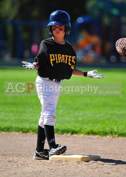 The PNLL A Pirates at the Pleasanton Sports Park May 1, 2010. (Photo by Alan Greth)