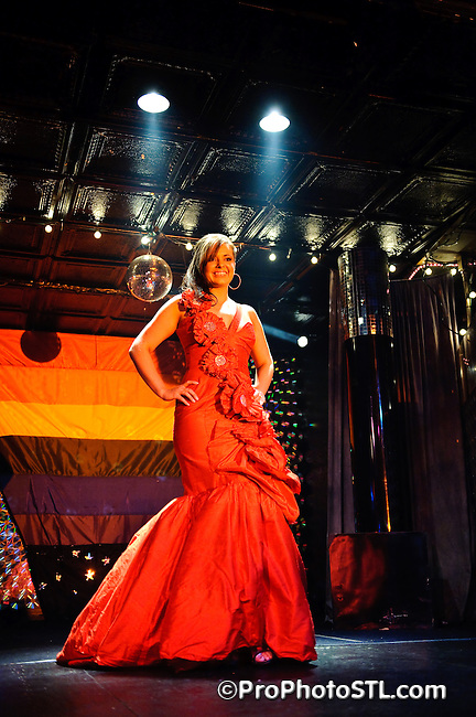 Pride St. Louis Pageant at Attitudes nightclub in St. Louis on May 31, 2009.
