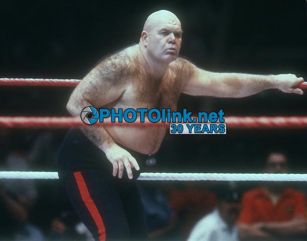 "George ""The Animal"" Steele, 1989, Photo By John Barrett/PHOTOlink"
