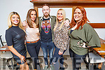 Elvery's Sports enjoying the evening in La Scala on Saturday.<br /> L to r: Courtney Roche, Norma Quilter, Ryan Byrne, Yvonne O'Sullivan and Aine O'Connor.