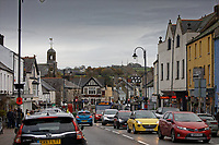 Pictured: High Street, Cowbridge, Wales, UK. Wednesday 06 November 2019<br /> Re: People in Cowbridge share their views after the Vale of Glamorgan MP Alun Cairns announced that he has resigned from his role as a Secretary for Wales.