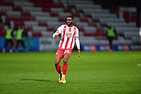 Aramide Oteh of Stevenage FC during Stevenage vs Bolton Wanderers, Sky Bet EFL League 2 Football at the Lamex Stadium on 21st November 2020