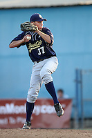 Parker Bugg participates in the Area Code Games at Blair Field on August 9, 2012 in Long Beach, California. (Larry Goren/Four Seam Images)