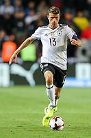 Thomas Mueller #13 (Germany), Tschechische Republik vs. Germany, Football, WM-Qualifikation, 01.09.2017 *** Local Caption *** © pixathlon<br /> Contact: +49-40-22 63 02 60 , info@pixathlon.de