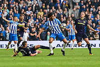 Isaiah (Izzy) Brown of Brighton & Hove Albion (37) during the Premier League match between Brighton and Hove Albion and Everton at the American Express Community Stadium, Brighton and Hove, England on 15 October 2017. Photo by Edward Thomas / PRiME Media Images.