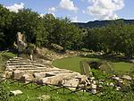 "Italien, Latium, Monteleone in der Region Sabina: Parco archeologico ""Trebula Mutuesca"" | Italy, Lazio, Monteleone at Region Sabina: Parco archeologico ""Trebula Mutuesca"""