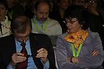 PIERO FASSINO E MARINA SERENI<br /> ASSEMBLEA NAZIONALE PARTITO DEMOCRATICO<br /> FIERA DI ROMA - 2009