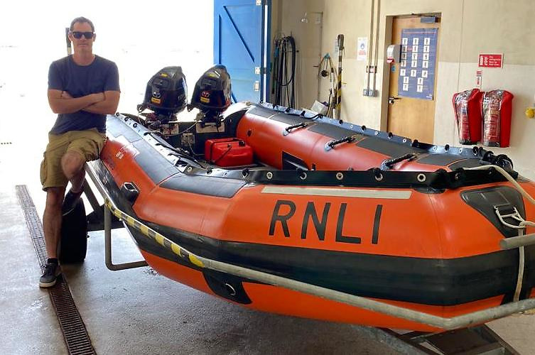 Ciaran Needham, a native of Sáile is Achill Island RNLI station's new Lifeboat Operations Manager