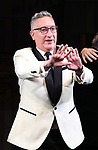 """Moises Kaufman  during the Broadway Opening Night Curtain Call for """"Torch Song"""" at the Hayes Theater on November 1, 2018 in New York City."""