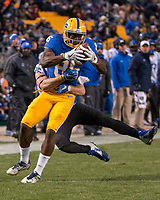Pitt wide receiver Jester Weah (85). The Pitt Panther defeated the Duke Blue Devils 56-14 at Heinz Field in Pittsburgh, Pennsylvania on November 19, 2016.