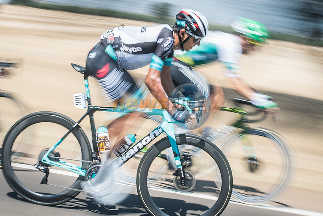 Andrey Zeits (KAZ) Team BikeExchange during Stage 14 of La Vuelta d'Espana 2021, running 165.7km from Don Benito to Pico Villuercas, Spain. 28th August 2021.     <br /> Picture: Unipublic/Charly Lopez | Cyclefile<br /> <br /> All photos usage must carry mandatory copyright credit (© Cyclefile | Charly Lopez/Unipublic)