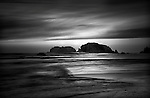 Bandon, Oregon,  Black and White Photography
