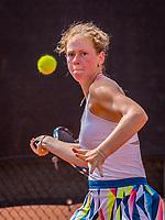 Rotterdam, Netherlands, August21, 2017, Rotterdam Open, Stephanie Judith Visscher (NED)<br /> Photo: Tennisimages/Henk Koster
