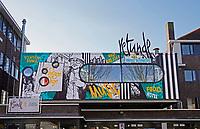 Nederland  Eindhoven -  2018.  Woensel-West. Deze woonbuurt is onderdeel van de herstructurering van de wijk Woensel-West in Eindhoven. Centraal in de wijk ligt de Edisonstraat. Langs deze straat zijn woon-, werk- en winkelruimten gesitueerd.  Foto Berlinda van Dam / Hollandse Hoogte