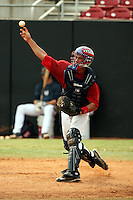 September 15, 2009:  Stefan Sabol, one of many top prospects in action, taking part in the 18U National Team Trials at NC State's Doak Field in Raleigh, NC.  Photo By David Stoner / Four Seam Images
