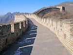The Great Wall of China near Beijing, China.