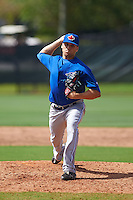 Toronto Blue Jays pitcher Chris Rowley (36) during an instructional league game against the Philadelphia Phillies on October 3, 2015 at the Carpenter Complex in Clearwater, Florida.  (Mike Janes/Four Seam Images)