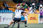 Tradition YCAC vs King's College at UQ during their Cup Quarter-final as part of the GFI HKFC Rugby Tens 2017 on 06 April 2017 in Hong Kong Football Club, Hong Kong, China. Photo by Juan Manuel Serrano / Power Sport Images