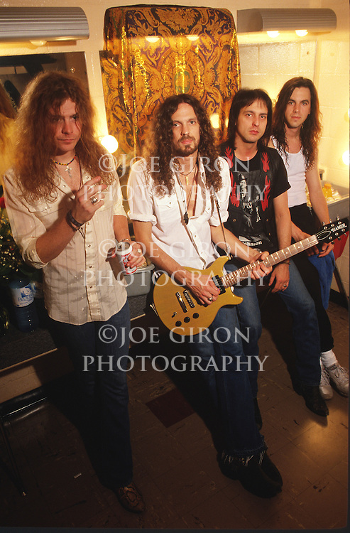 Various portrait sessions and live photographs of the rock band, Cry of Love