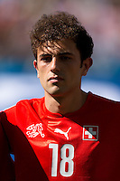Admir Mehmedi of Switzerland