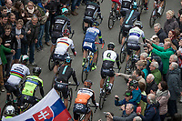 Start in Mol with World Champion Peter Sagan (SVK/Bora Hansgrohe) & German Champion André Greipel (DEU/Lotto-Soudal)<br /> <br /> 105th Scheldeprijs 2017 (1.HC)<br /> 1day race: Mol > Schoten 200km