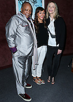 LOS ANGELES, CA, USA - SEPTEMBER 17: Quincy Jones, Rashida Jones, Peggy Lipton arrive at the Los Angeles Premiere Of RADiUS-TWC's 'Keep On Keepin' On' held at the Landmark Theatre on September 17, 2014 in Los Angeles, California, United States. (Photo by Xavier Collin/Celebrity Monitor)