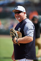 Detroit Tigers manager Ron Gardenhire (15) before a Grapefruit League Spring Training game against the New York Yankees on February 27, 2019 at Publix Field at Joker Marchant Stadium in Lakeland, Florida.  Yankees defeated the Tigers 10-4 as the game was called after the sixth inning due to rain.  (Mike Janes/Four Seam Images)