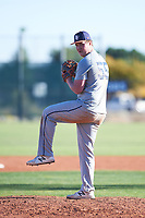 Tyler Jilek (55), from Kennewick, Washington, while playing for the Tigers during the Under Armour Baseball Factory Recruiting Classic at Red Mountain Baseball Complex on December 28, 2017 in Mesa, Arizona. (Zachary Lucy/Four Seam Images)