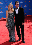 Jon Hamm & Jennifer Westfeldt..Jennifer Westfeldt  at The 62nd Anual Primetime Emmy Awards held at Nokia Theatre L.A. Live in Los Angeles, California on August 29,2010                                                                   Copyright 2010  DVS / RockinExposures