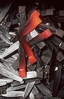 Europe/France/Auvergne/12/Aveyron/Laguiole: Fabrication des couteaux Laguiole - Société Laguiole - La forge