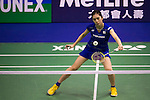 Aya OHORI of Japan in action while playing against Chia Hsin LEE of Chinese Taipei during the YONEX-SUNRISE Hong Kong Open Badminton Championships 2016 at the Hong Kong Coliseum on 23 November 2016 in Hong Kong, China. Photo by Marcio Rodrigo Machado / Power Sport Images
